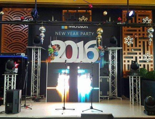 Microsoft 2016 Yeni Yıl Organizasyon